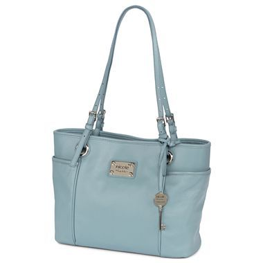 2676f6a1e nicole by Nicole Miller® Ava Leather Tote - jcpenney | Purses ...