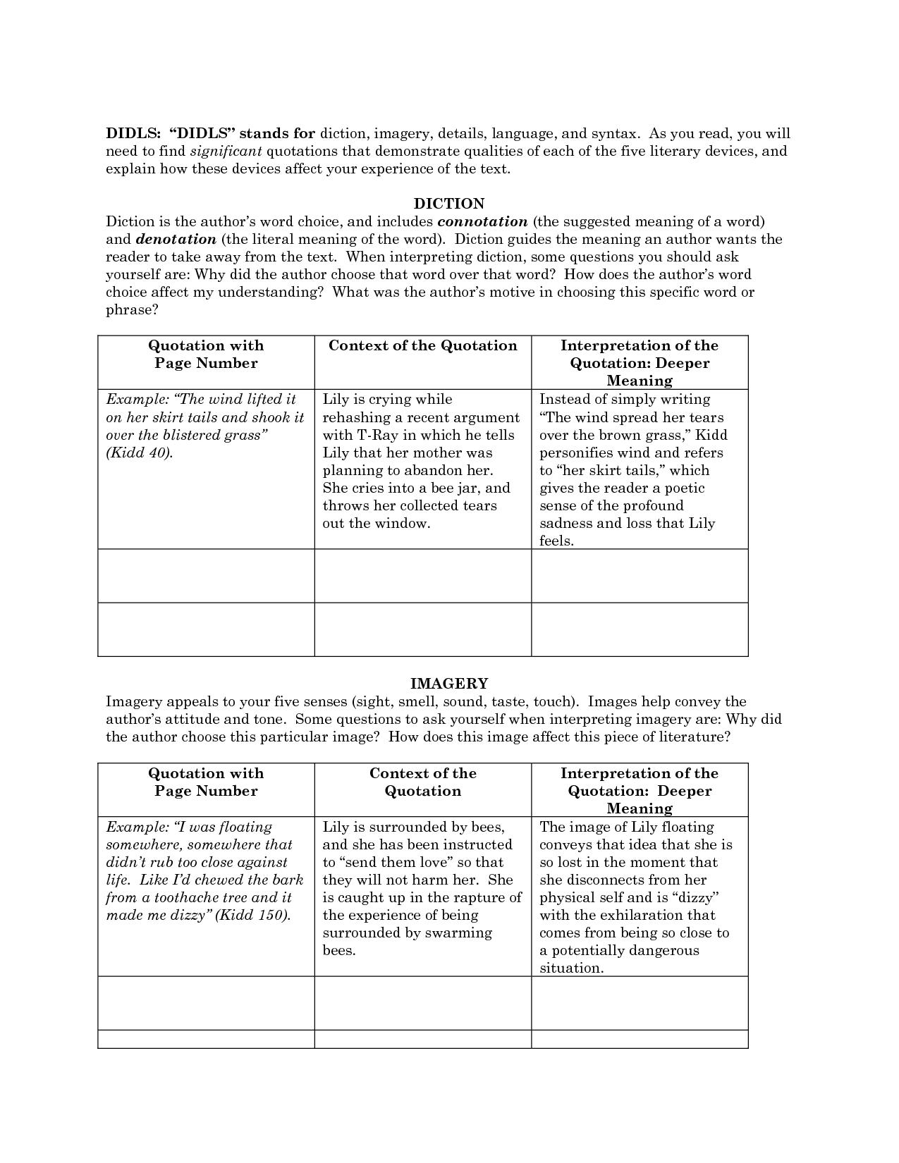 Interactive Notebook Sentence Structure
