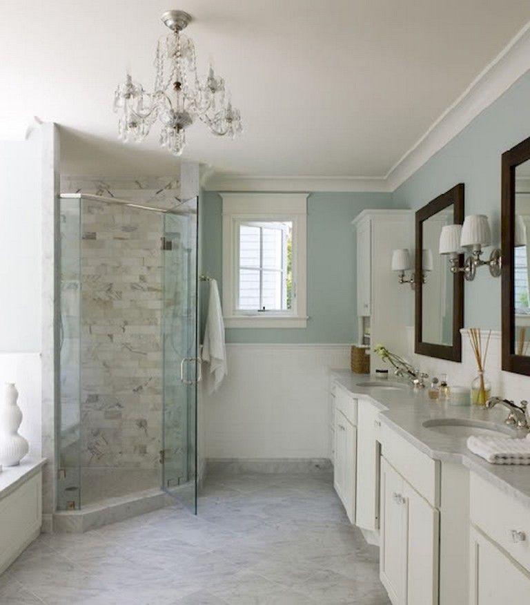 73+ Marvelous Farmhouse Master Bathroom Decor Ideas and