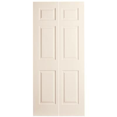 Masonite 30x80 X 1 3 8 6 Panel Bifold Door Home Depot Canada Interior Design School Bifold Doors Tall Cabinet Storage