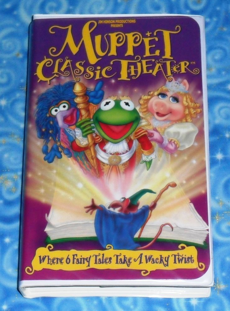 Muppet Classic Theater Jim Henson VHS Video Tape Excellent ... The Muppet Movie Vhs 1994