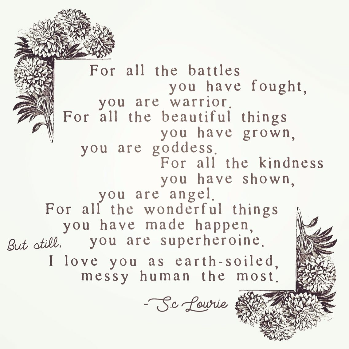 goddess poems love