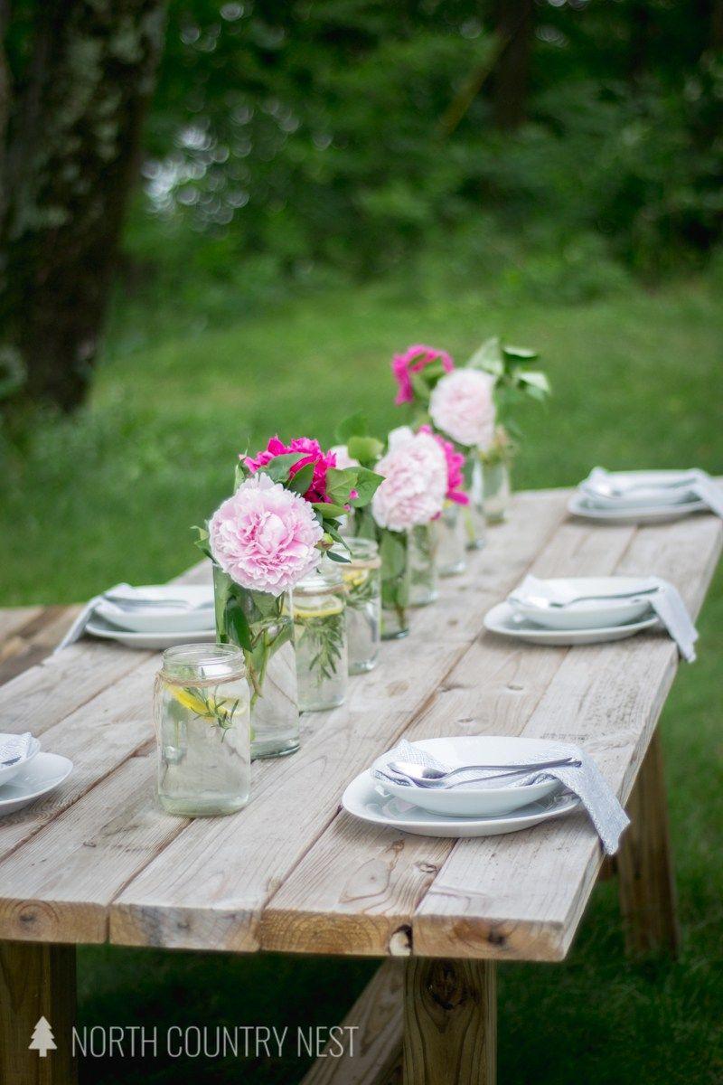 Simple Summer Table Decor Blog Hop Summer Table Decorations