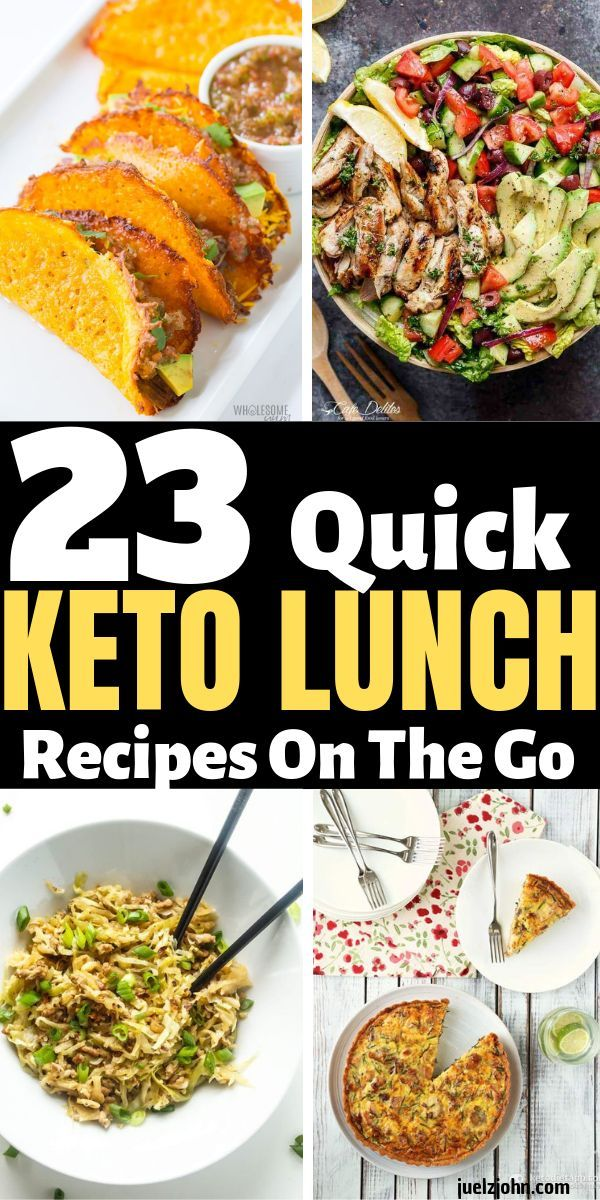 Keto lunch recipes: 23 Easy keto lunch ideas to take to work #ketorecipesforbeginners