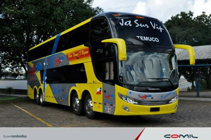 Scania Comil Campeone Invictus Dd Jet Sur Vip Bus Vip Jet