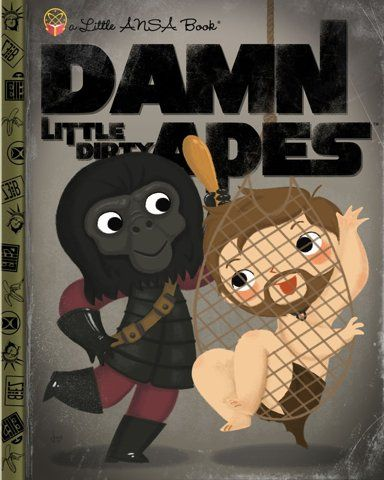 "Joey Spiotto ""Damn Little Dirty Apes"" Print – Gallery1988"