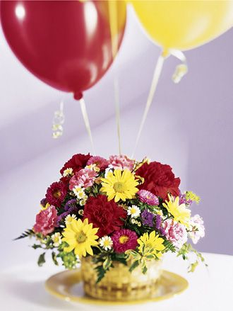 Lets Be Buds Arrangement Birthday Flowers Congratulations http