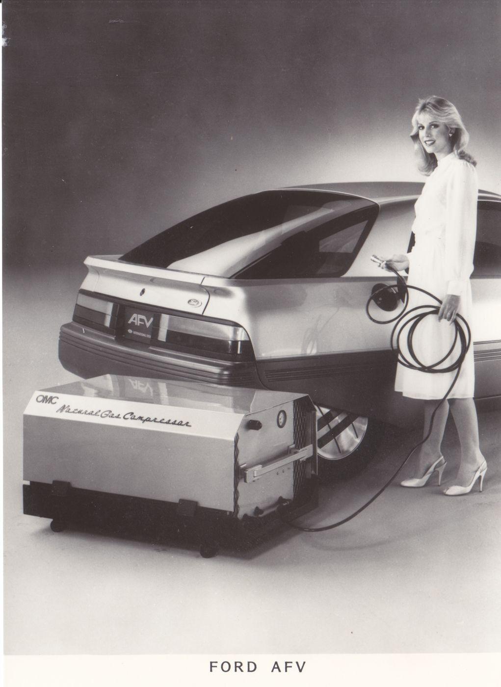 Ford Afv Concept Car Rai Nl 1983 Concept Cars Alternative Fuel Ford Motor Company