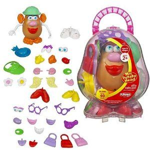 Playskool Mrs. Potato Head Silly Suitcase