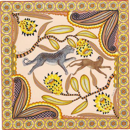 d377578e1dcd La Maison des Carrés Hermès   The Savana Dance   BELOVED SCARVES ...
