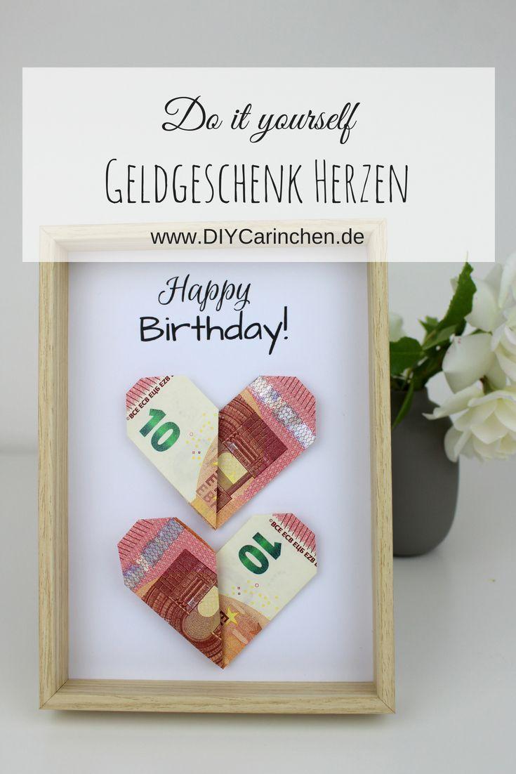 Photo of DIY Geldgeschenk Herzen nach Origami Art – die perfekte Geschenkidee