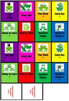 Behavior Flip Cards For Pocket Chart Behavior Cards Pocket Chart Flip Cards