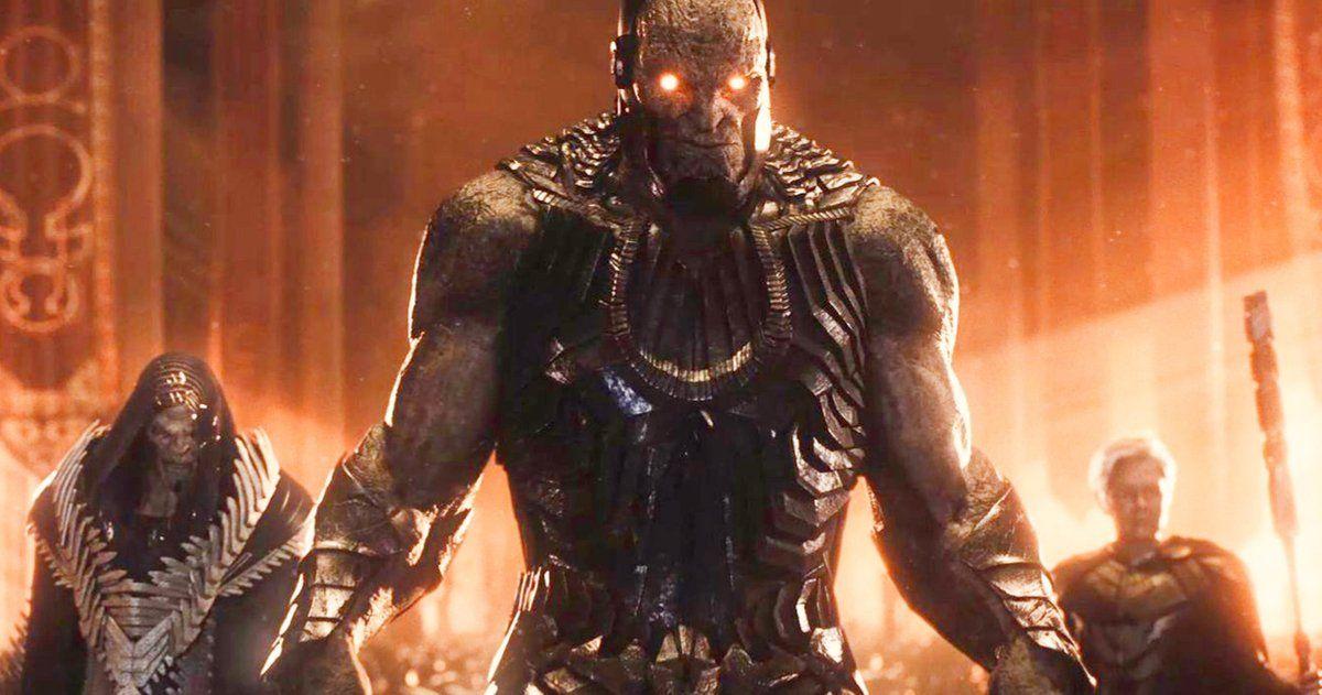 Darkseid Desaad Granny Goodness Unite In New Zack Snyder S Justice League Teaser In 2021 Darkseid Justice League Comic Villains