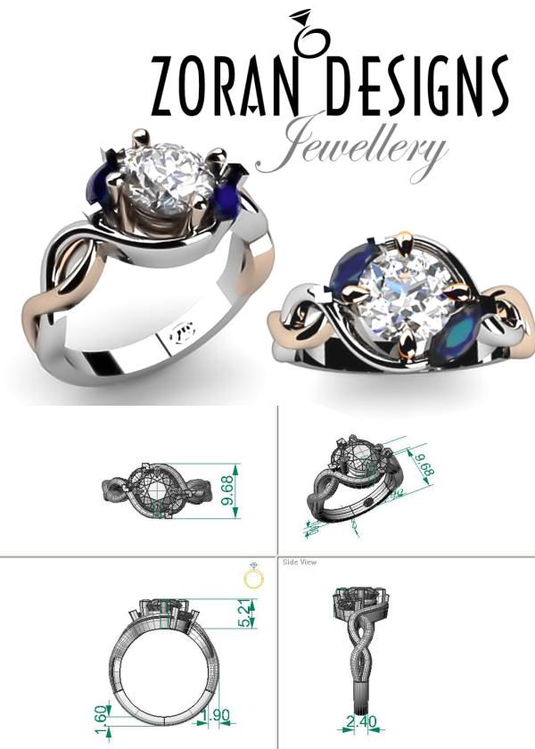 82edf1bef49b7c Renders for custom engagement ring design Custom Jewelry Design, Natural  Diamonds, Colored Diamonds,