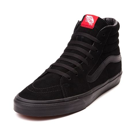 Land on all four wheels with the Sk8 Hi Skate Shoe from Vans. Take on