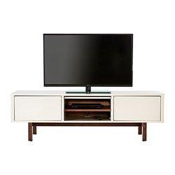 ikea stockholm tv bank beige durch die kabel ffnung in der tv bank k nnen leitungen. Black Bedroom Furniture Sets. Home Design Ideas
