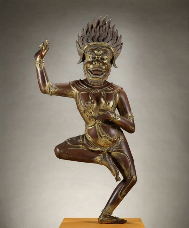 Simhavaktra Dakini 18th C  China for the Qing emperor