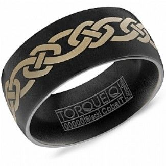Crown Ring - Collections Alternative Metal Cobalt Black Cbb 0010