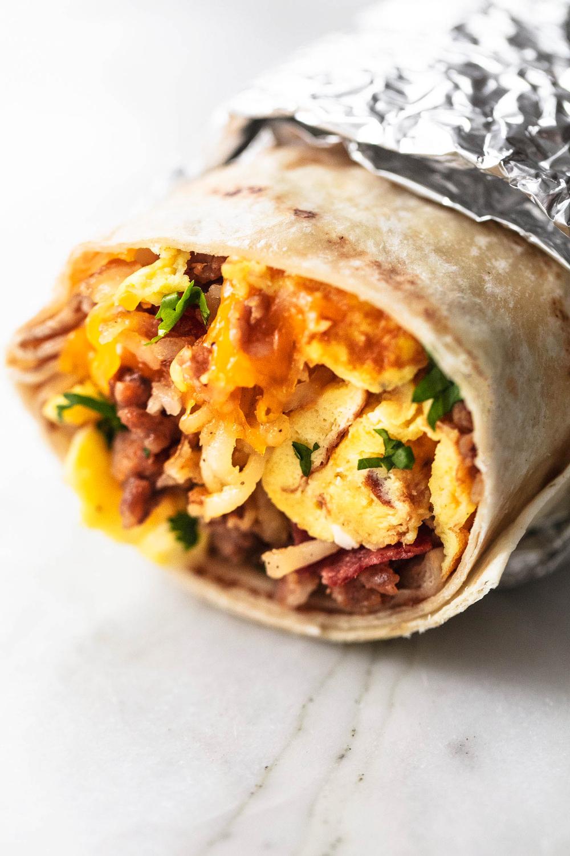 Freezer Breakfast Burritos Reheat In The Microwave Breakfast Burrito Freezer Breakfast Breakfast Recipes Freezer Breakfast Burritos