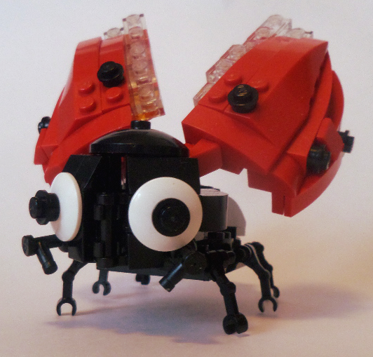 Awww...how cute! It's a Lego Ladybug MOC