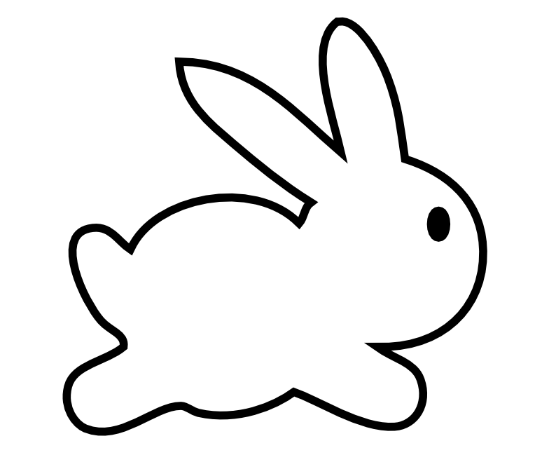 free scrap Easter bunny png\'s and digital stamp – Osterhase Clipart ...