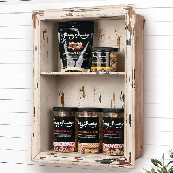 Hang our beautifully Distressed Wall Shelf in your ...