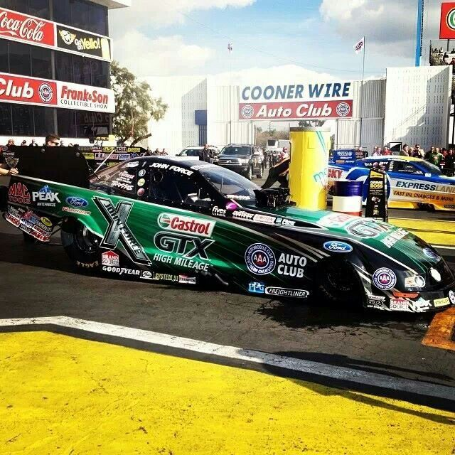 John Force Qualifying @ Pomona 2014!! First Race of the Year!!! #1