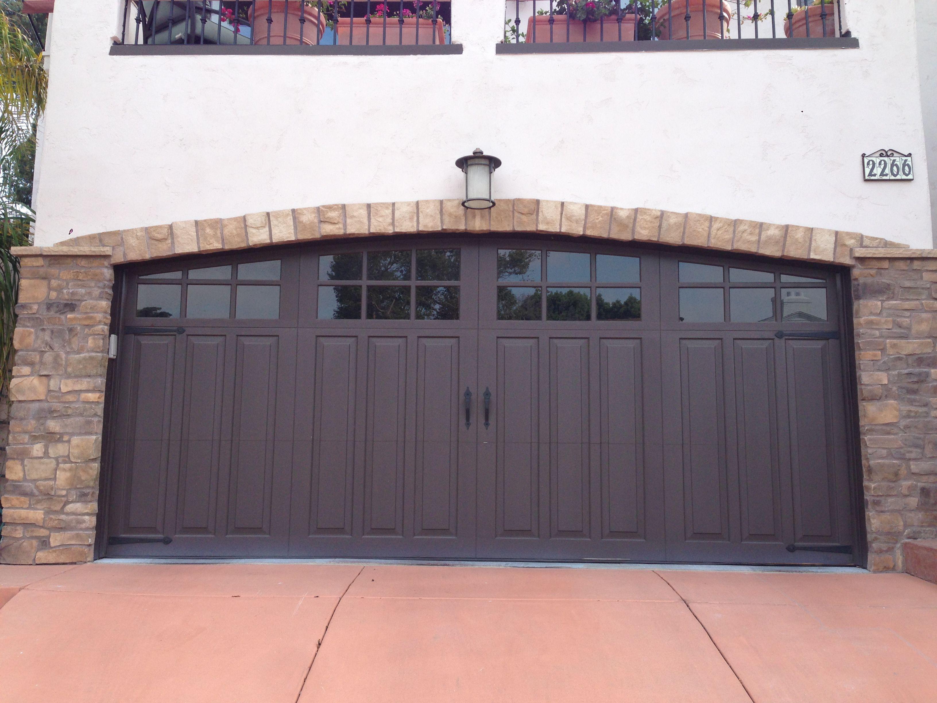 Custom Wood Sectional Overhead Garage Door