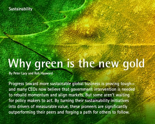 UN Global Compact-Acenture CEO study on sustainability: Why green ...