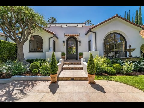 Pristine Spanish Style Home In Los Angeles California Sotheby S International Realty Youtube In 2020 Spanish Style Homes Los Angeles Homes Spanish Style Home