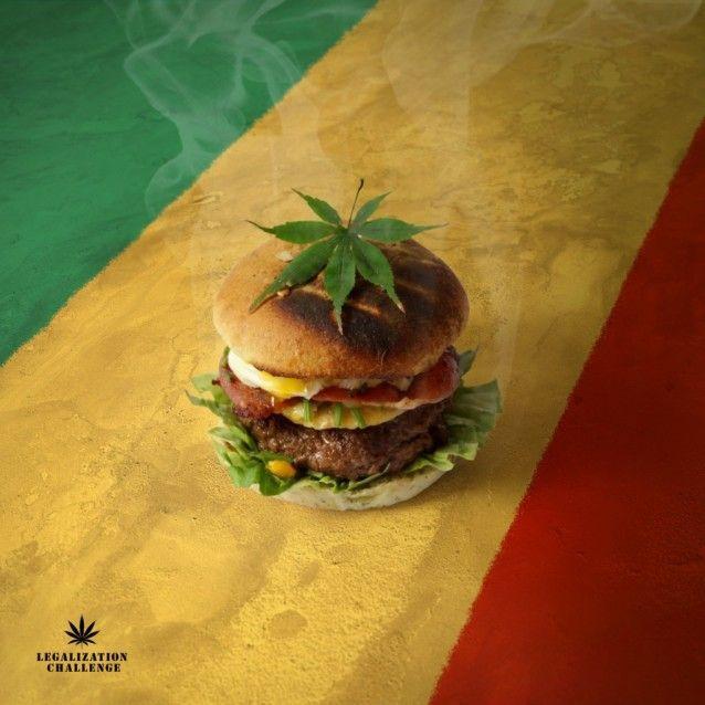 Weed Burgers - Original Weed Recipes -