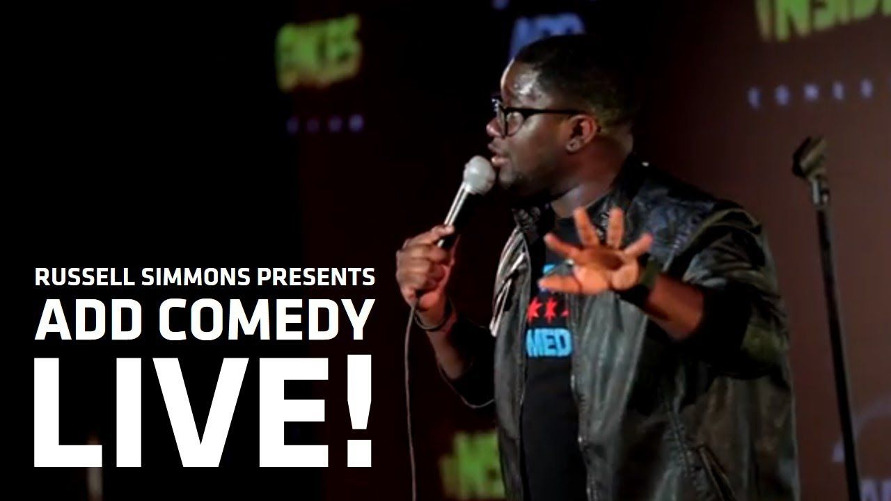Russell Simmons Presents: ADD COMEDY LIVE! - Lil Rel