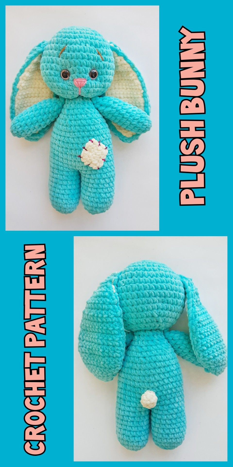Amigurumi Bunny Free Crochet Patterns - Page 2 of 2 - Crochet ... | 1920x960