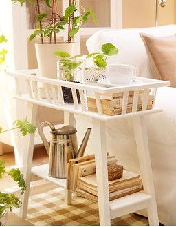 White Plant Stand Ikea