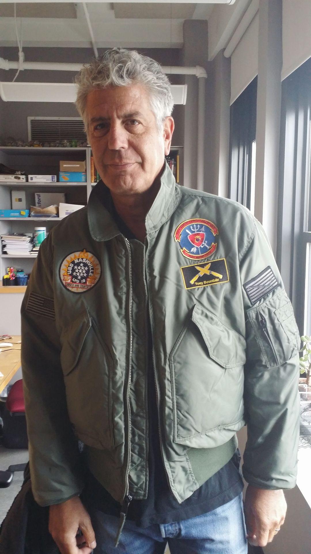 Custom Jacket The Us Navy Made For Tony In 2019 Anthony