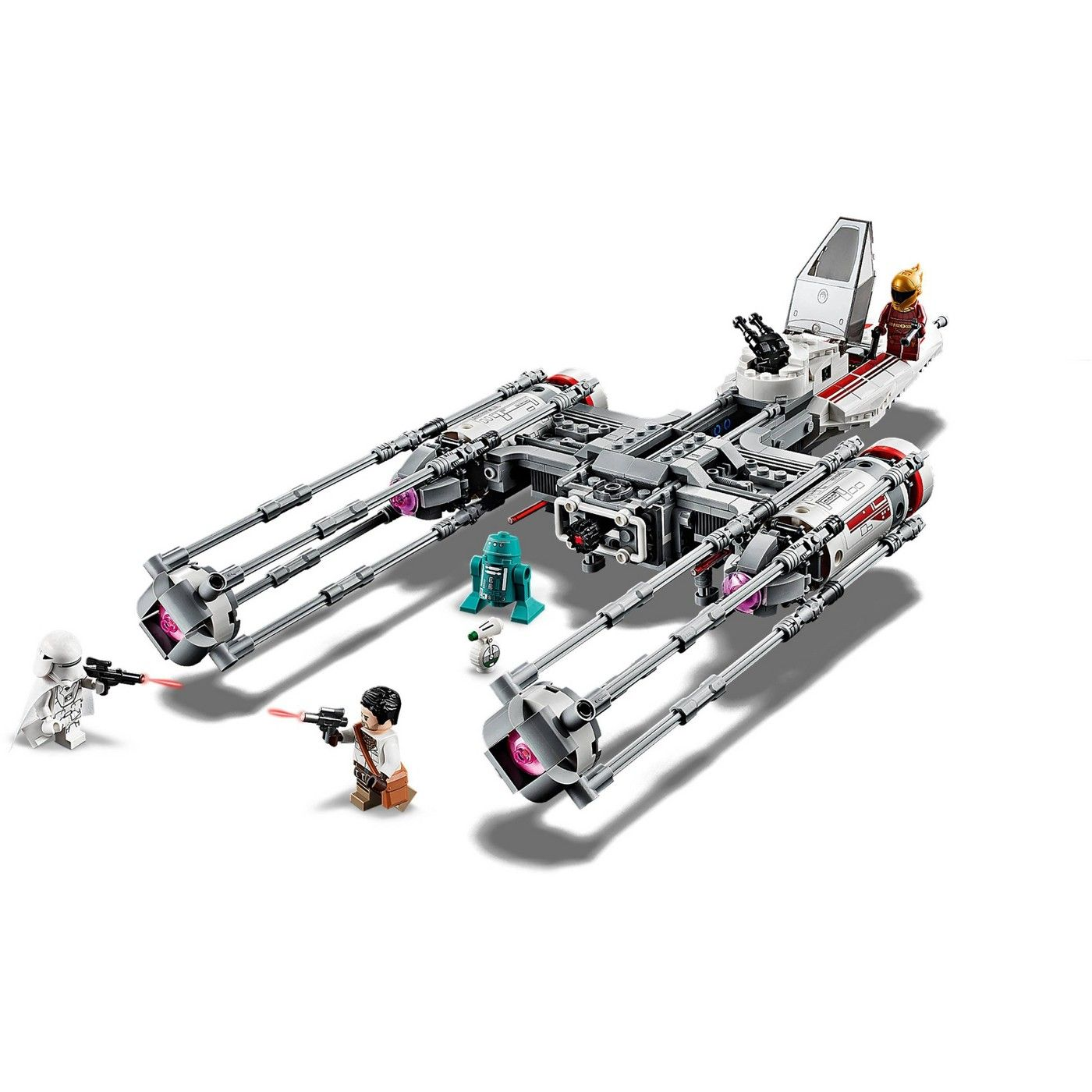 Lego Star Wars The Rise Of Skywalker Resistance Y Wing Starfighter 75249 New Advanced Collectible Starship Model Building Kit 578pc Affilia With Images Model Building Kits