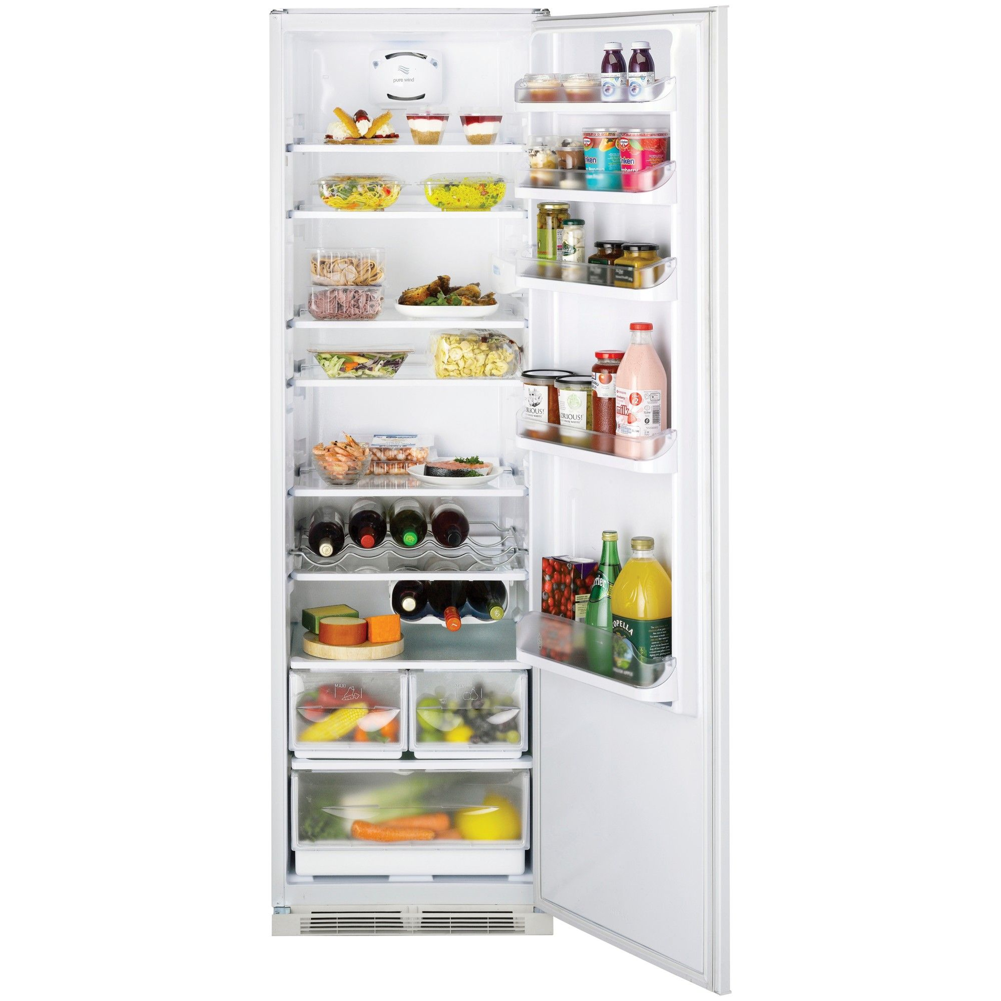 Buy Hotpoint HS3022VL Tall Integrated Larder Fridge, A+ Energy ...
