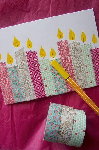 Geburtstagskarte #scrapbook
