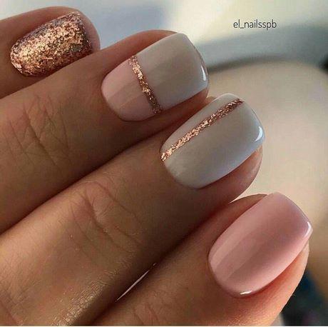 golden nail design en 2020  idee ongles vernis à ongles
