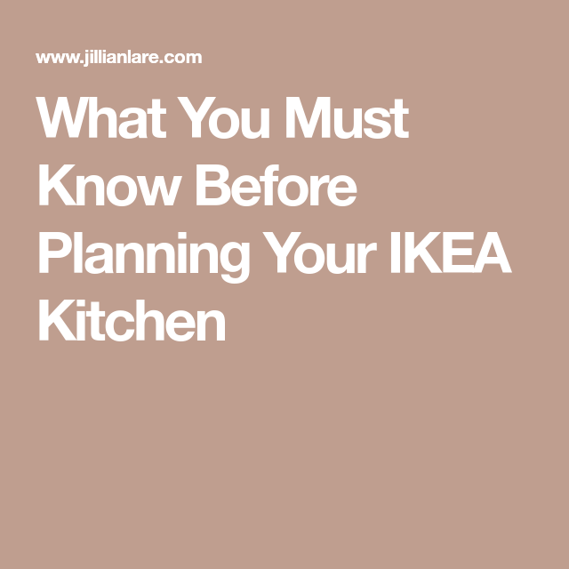 12 Things to Know Before Planning Your IKEA Kitchen by ...