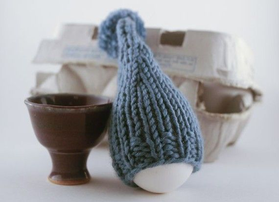 Egg cup and cozy set /Custom order for goodgin