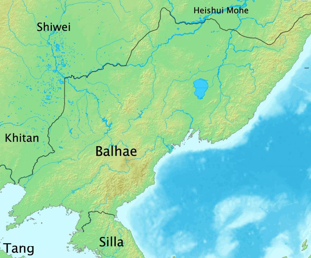 The Territory Of Balhae In 830s During The Reign Of King