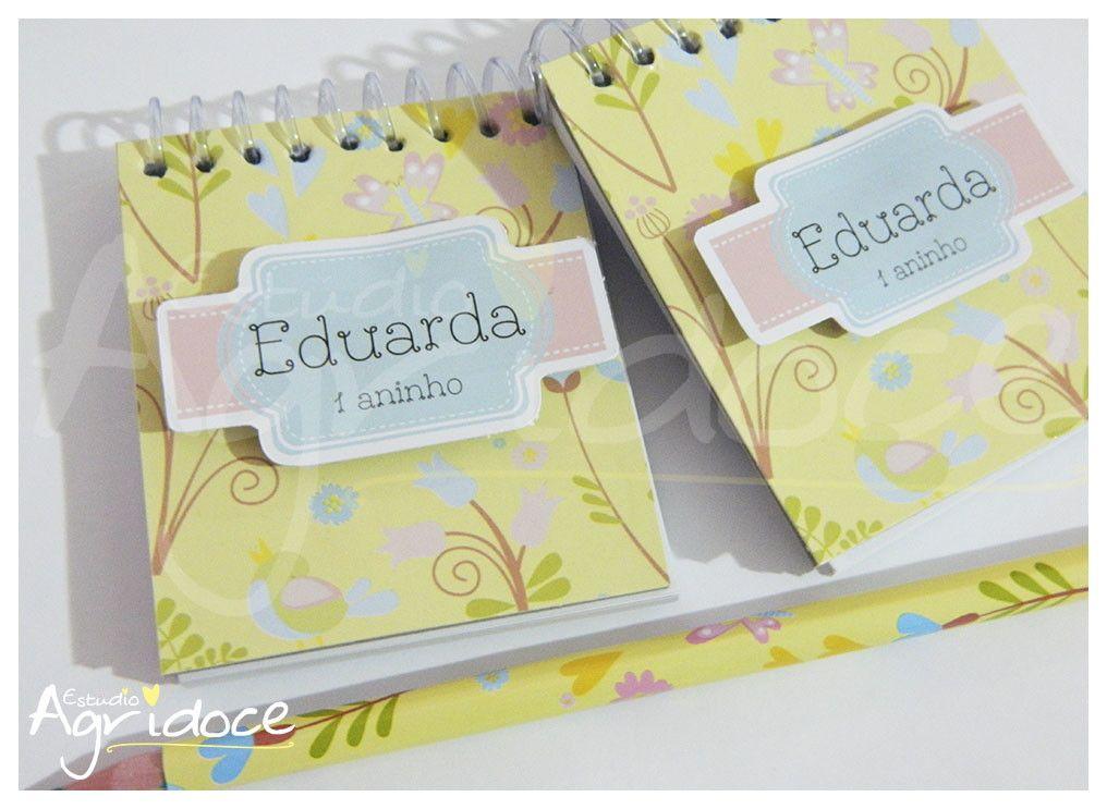 8054e3ba0 Kit lembrancinha  Caderneta + lápis personalizado.  br Feito no papel  fotográfico brilhante