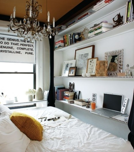 Piccole camere da letto su pinterest decorazione case di for Pinterest arredamento