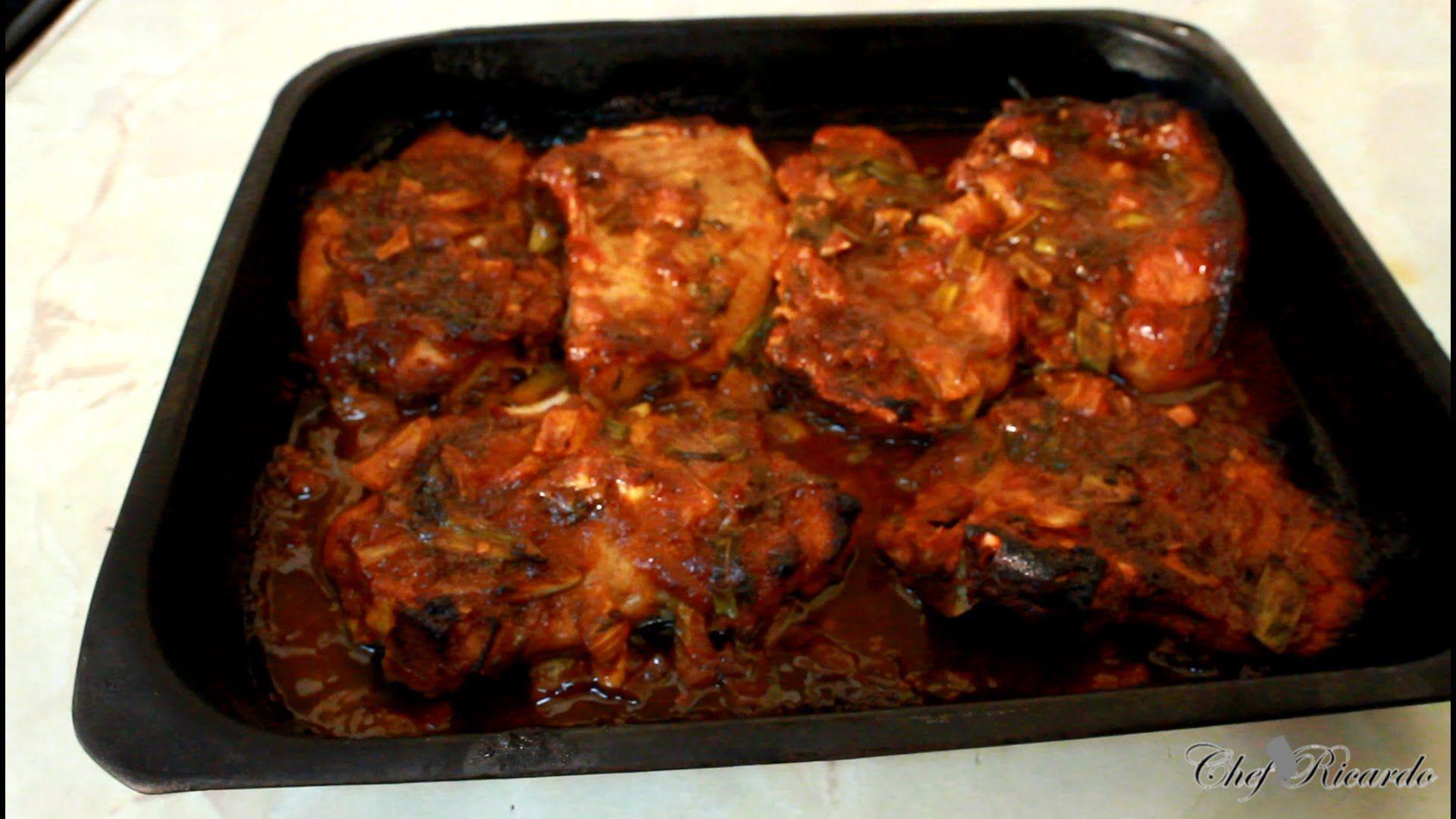 Sweet Chilli Pork Chops Recipe Chef Ricardo Way Of Cooking Jamaican!!