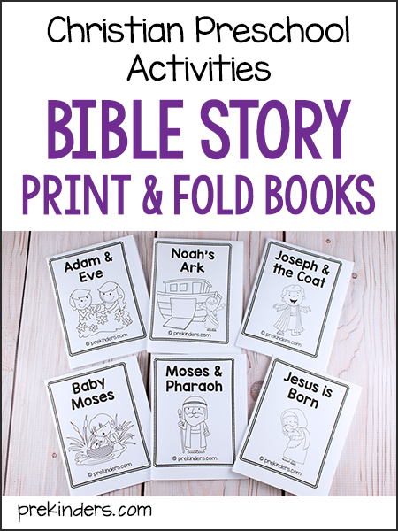 photograph relating to Free Printable Spiritual Gifts Test Short named Bible Tale Print Fold Textbooks: For Pre-K Preschool Little ones