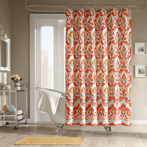 Sophisticated Fall Shower Curtains For Guest Bathrooms With