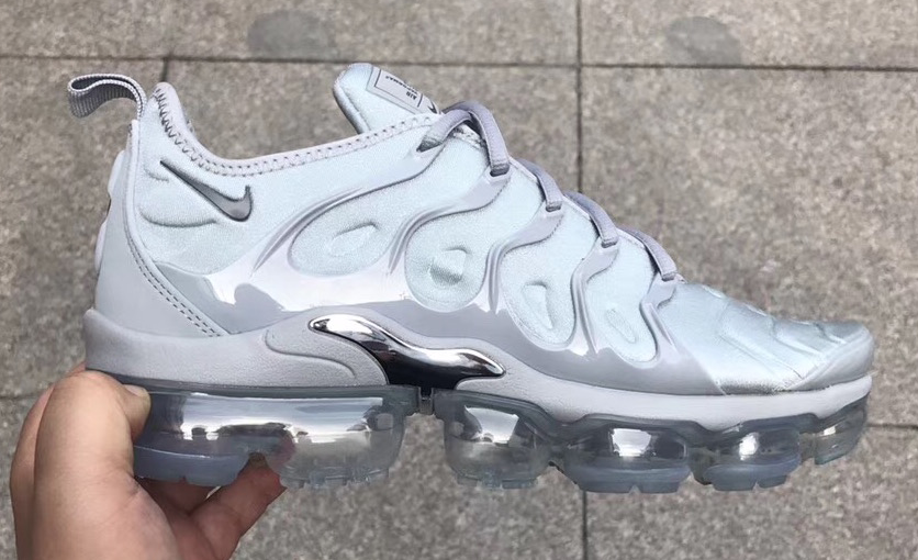 check out d347d 0b9cc Nike Air VaporMax Plus Triple Grey Dropping In 2018
