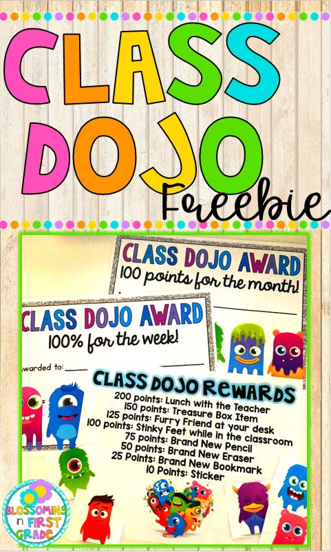 Class Dojo {FREEBIE} Class dojo, Class dojo for teachers
