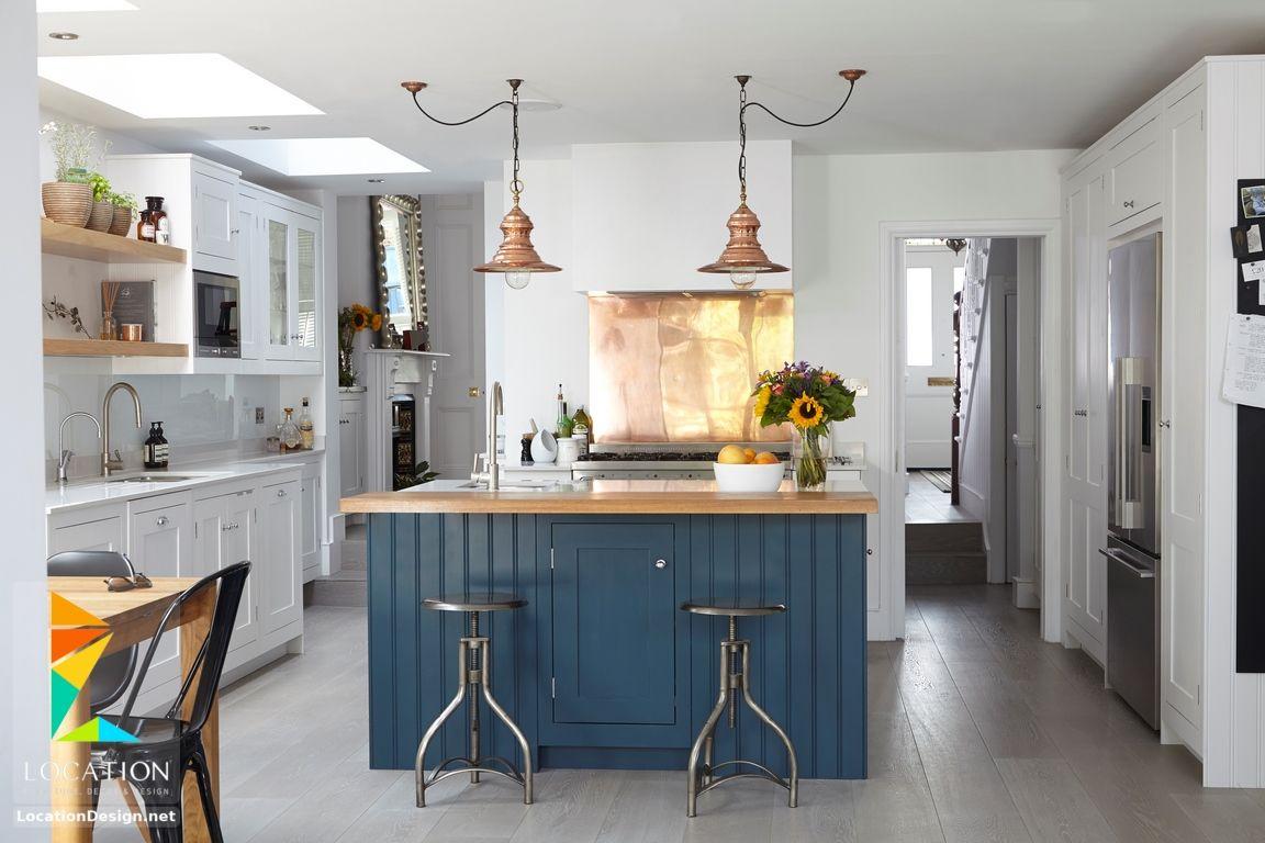 اشكال مطابخ مودرن من أحدث كتالوج صور موديلات المطابخ 2019 2020 Farmhouse Kitchen Inspiration Modern Farmhouse Kitchens Kitchen Trends